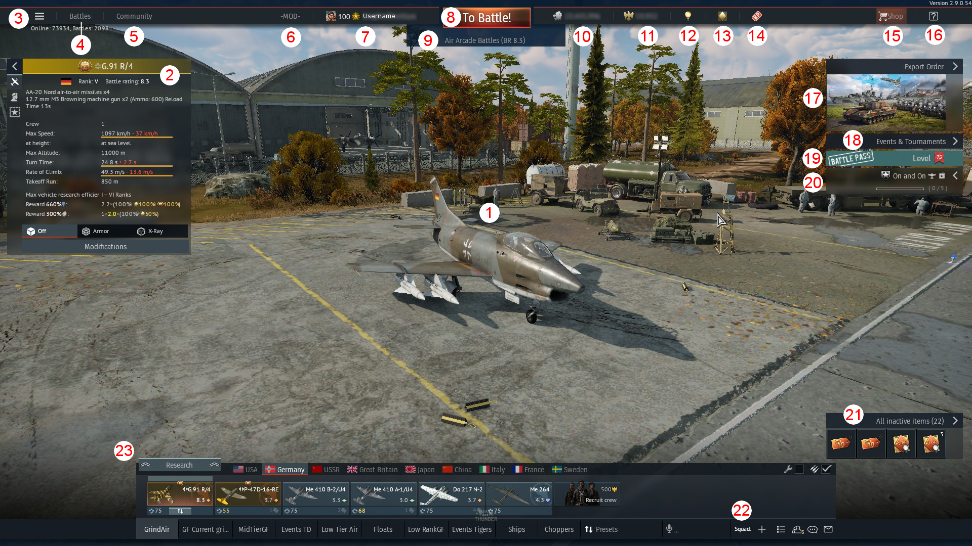 war thunder ui