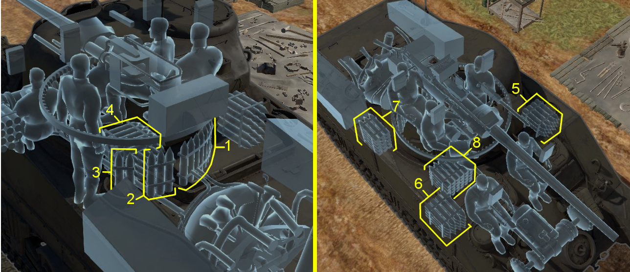 war thunder how to change tank ammo load without combat