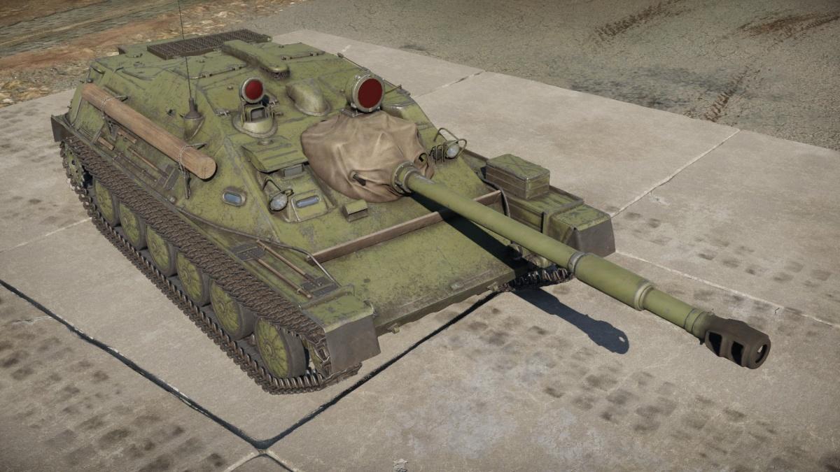 War Thunder Asu 85