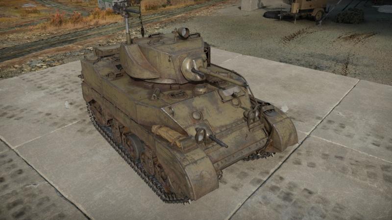 M5a1 war thunder tank