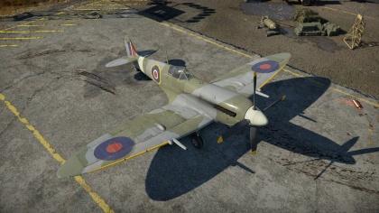 war thunder spitfire mk9