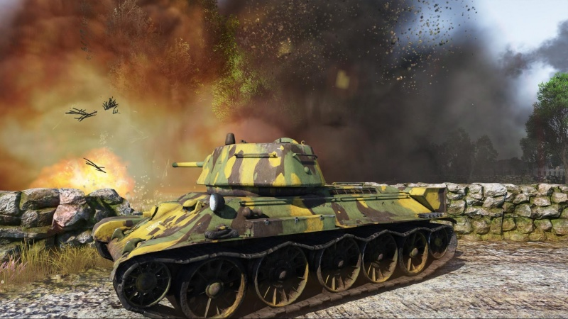 File:Screenshot T-34 protected by stone fence.jpg