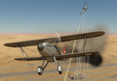 Ki-10-II C firing at Fury Mk II.png