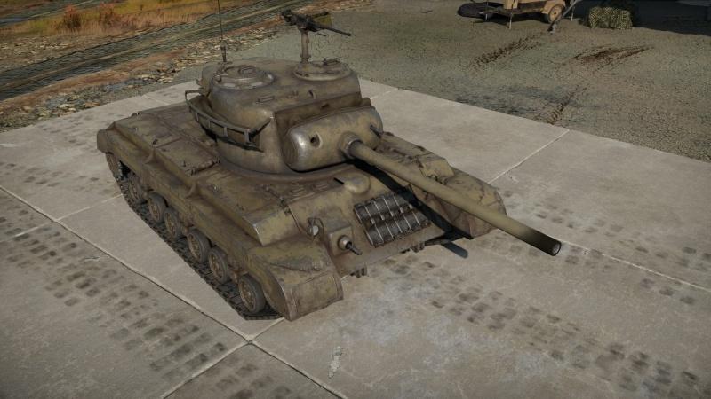 War Thunder T25