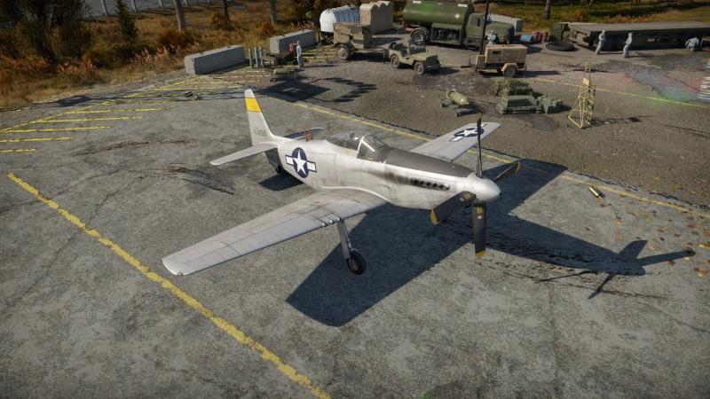 P51h War Thunder