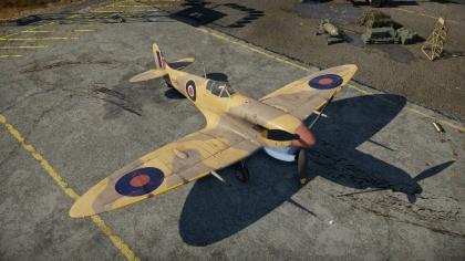 spitfire vb war thunder