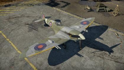 war thunder spitfire vc