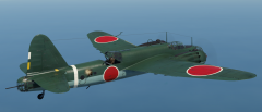 Ki-49-IIb L in flight.png
