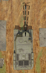 ISU-122S gun horizontal displacement.png